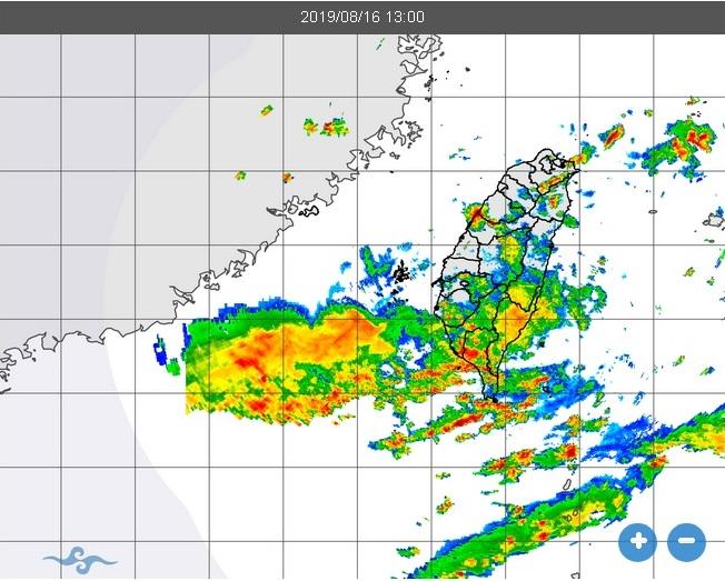 雨量雷達預測
