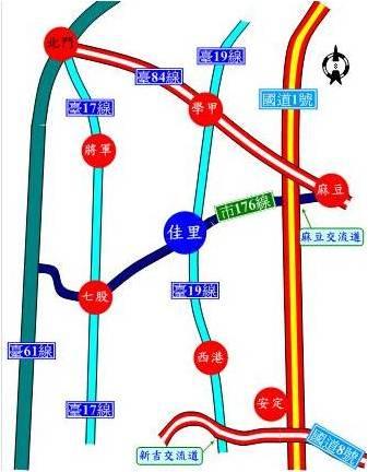 佳里區交通指標