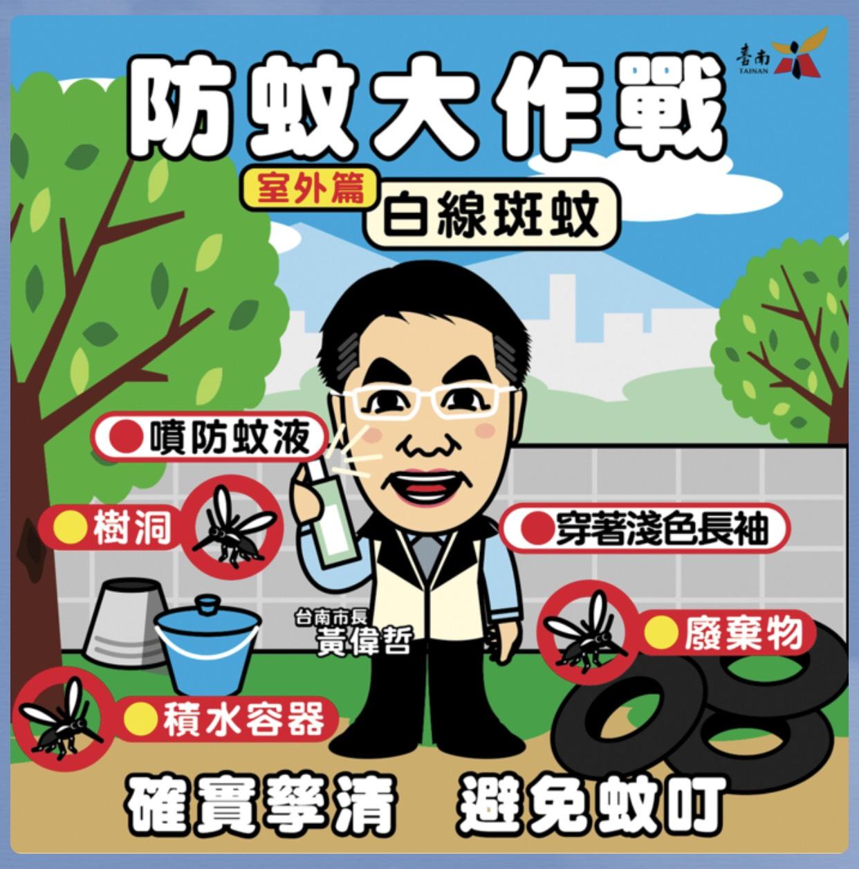 防蚊大作戰-室外篇