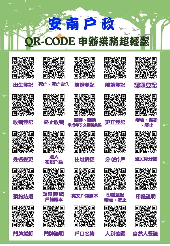 申辦須知QR-Code海報